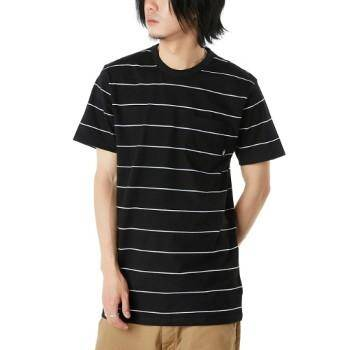 Glenwood Short Sleeve Black Tee