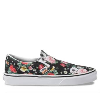 CLASSIC SLIP ON GARDEN FLORAL