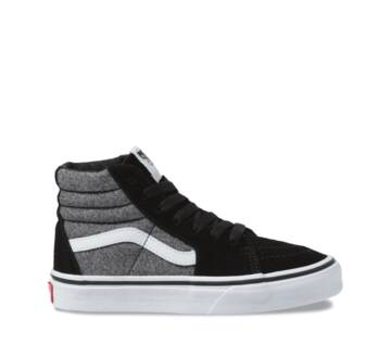 YOUTH SK8-HI SUEDE GREY