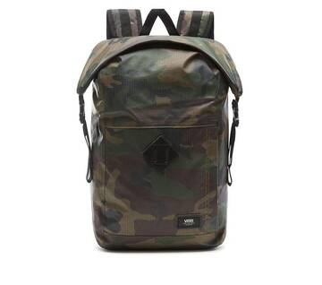 Fend Roll Top Camo Backpack