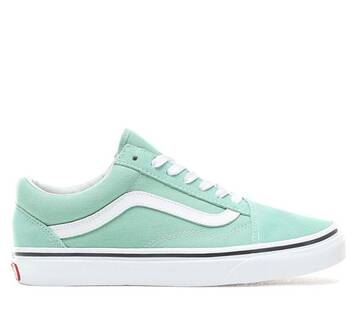Old Skool Neptune Green/True White