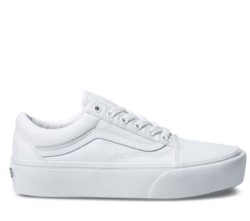 OLD SKOOL PLATFORM TRUE WHITE