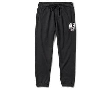 Tall Type Black Track Pant