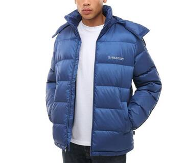 Mazarine Blue Down Puffer Jacket
