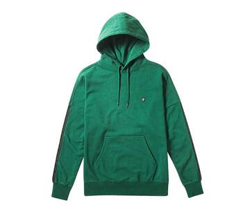 Off The Wall Taped Evergreen Hoodie