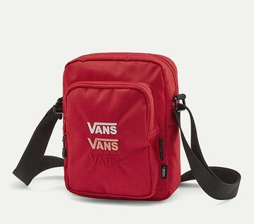 Triple V Crossbody Red Bag