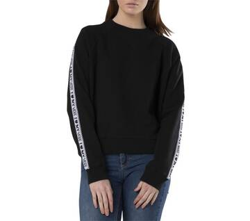 My Vans Black Long Sleeve Crew Neck Jumper