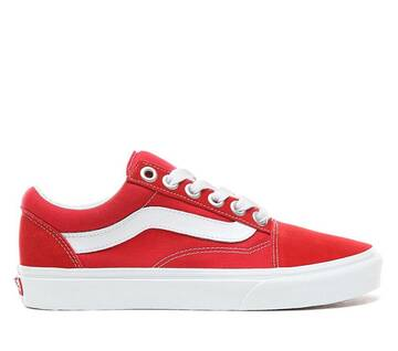 Old Skool Racing Red/True White