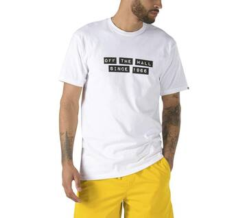 VANS X BAKER SHORT SLEEVE WHITE