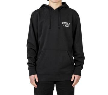 Full Patched Pull Over II Black