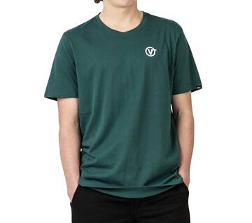LEFT CHEST LOGO TEE TREK GREEN