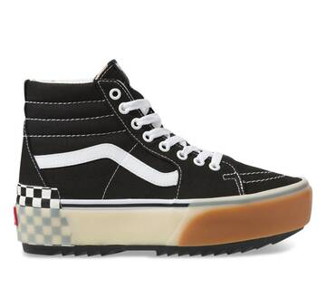 SK8-HI STACKED BLACK CHECK