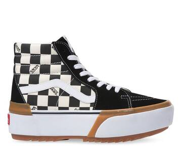 SK8-HI STACKED CHECKER MULTI