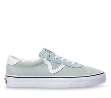 WASHED DENIM VANS SPORT SHOES