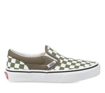 KIDS SLIP-ON CHECKER