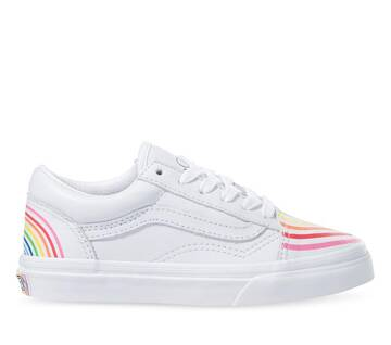 KIDS VANS x FLOUR SHOP OLD SKOOL RAINBOW