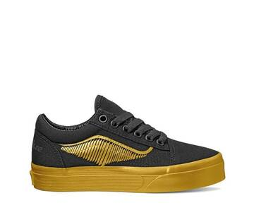 Vans X Harry  Potter Kids Old Skool Golden Snitch