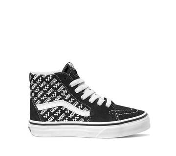 YOUTH SK8-HI LOGO REPEAT BLACK