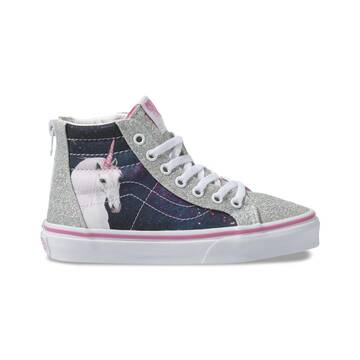 YOUTH SK8-HI ZIP UP DIGI UNICORN