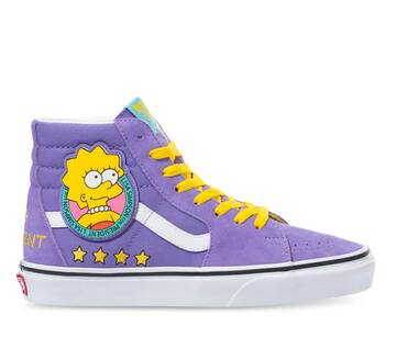 The Simpsons x Vans Sk8-Hi Lisa 4 Prez