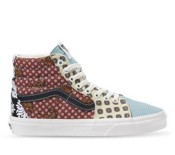 TIGER PATCHWORK SK8-HI SHOES