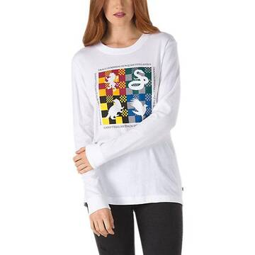 Vans X Harry Potter Hogwarts Long Sleeve Tee