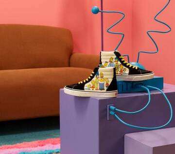 The Simpsons x Vans Sk8-Hi 1987-2020