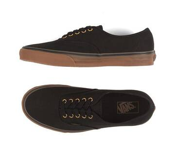 Authentic Black/Rubber