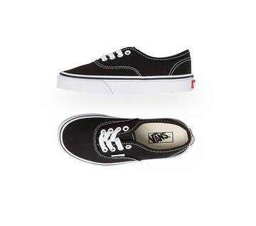Kids Authentic Black/True White