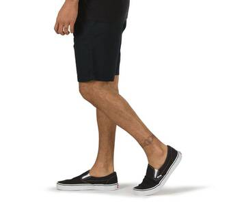 Authentic 20″ Black Stretch Short