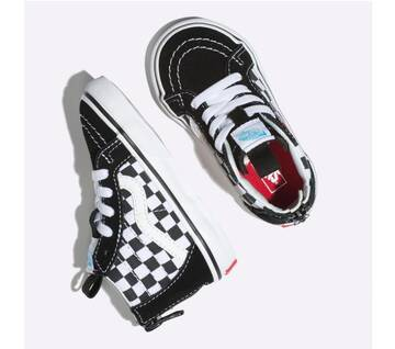 Vans x David Bowie Toddler Sk8-Hi Bowie Checkerboard