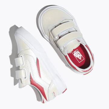 Vans x David Bowie Toddle Old Skool Aladdin Sane/True White
