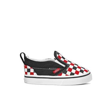 TODDLERS CHECKERBOARD SLIP-ON