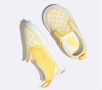 Toddler Slip On Checkerboard Aspen Gold