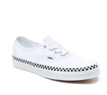 Authentic Check Foxing White