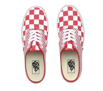 Authentic Mix Checker Chilli Pepper/True White