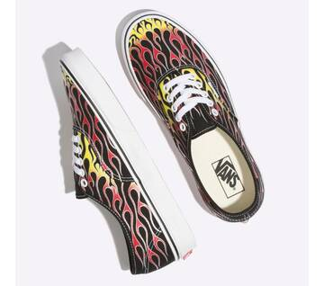 Authentic Mash Up Black Flames
