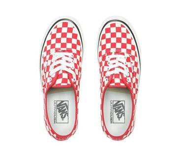Authentic 44 DX OG Red Check