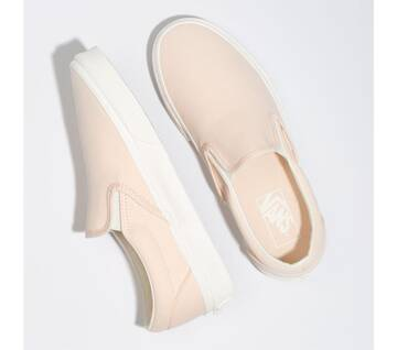 Classic Slip On Brush Twill Vanilla Cream