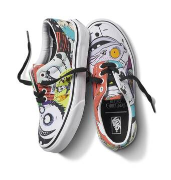 VANS X NIGHTMARE BEFORE CHRISTMAS KIDS ERA HALLOWEENTOWN