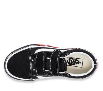 Kids Old Skool Velcro Flame Cut Out