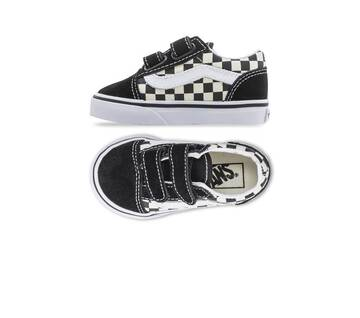 TODDLER OLD SKOOL VELCRO PRIMARY CHECK BLACK