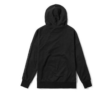 Off The Wall Taped Black Hoodie