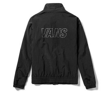 Off The Wall Taped Black Track Jacket