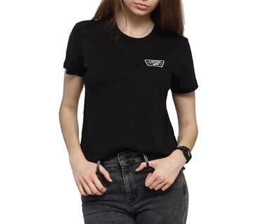 Full Patch Black Crew Tee