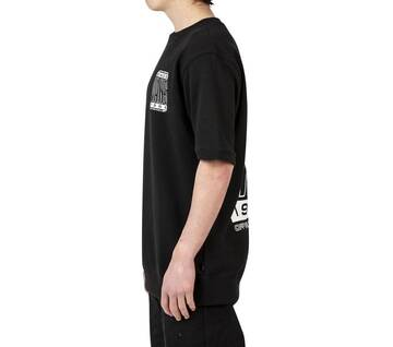 HIGH TYPE SHORT SLEEVE CREW BLACK