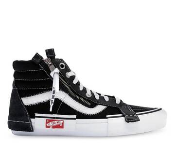 SK8-HI CAP BLACK TRUE WHITE