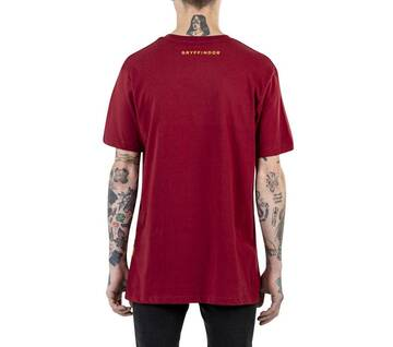 Vans X Harry Potter Gryffindor Red Short Sleeve Tee