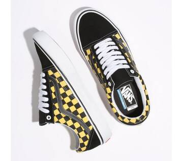 Old Skool Pro Checker Black/Aspen Gold