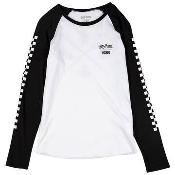 Vans X Harry Potter Hogwarts Long Sleeve Raglan